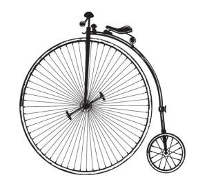 old=timey bike