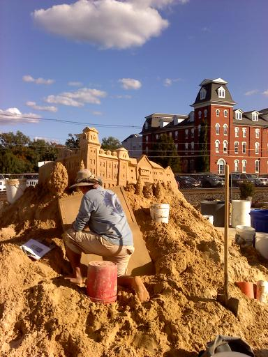 cool sand castles