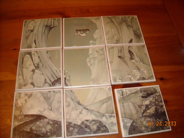 The sleeve from 1974's Relayer, from Progressive Rock band Yes.