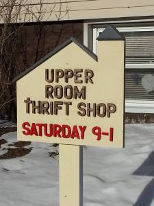 Visit the Upper Room Thrift Facebook Page by clicking on the pic!