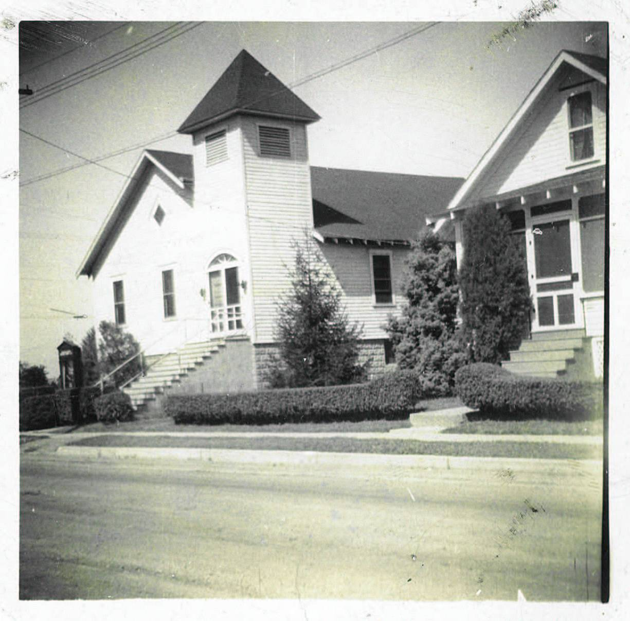 old church picture - full color